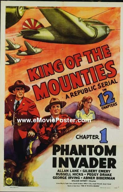 King of the Mounties - Lookit dem Jap planes!