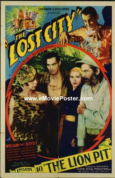 The Lost City (yes, that's Gabby Hayes on the right...)